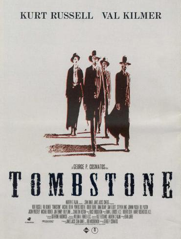 Tombstone Impressão original