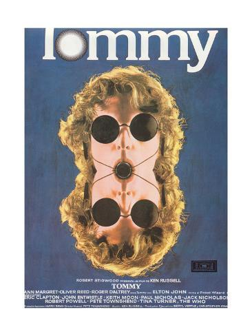 Tommy, Spanish Poster Art, 1975 Giclee Print
