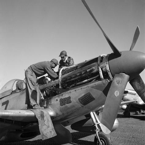 Tuskegee Airmen, 1945 Giclee Print