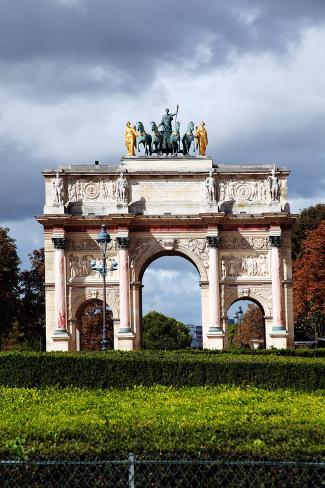 Arc De Triomphe Du Carrousel Photographic Print