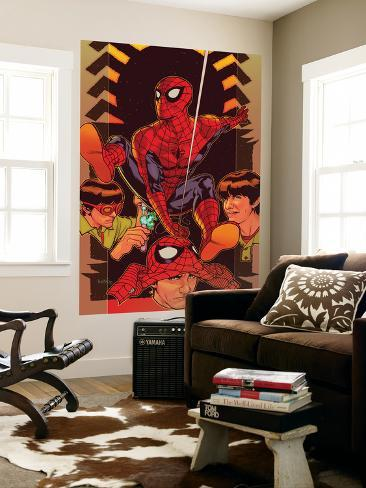 Spider-Man: Brand New Day - Extra!! No.1 Cover: Spider-Man Wall Mural