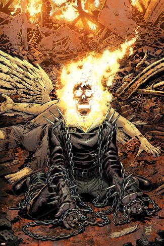 El Jinete Fantasma Ghost Rider Marvel Dibuj Sold Through