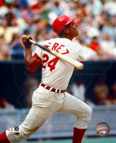 Tony Perez - Batting Photo