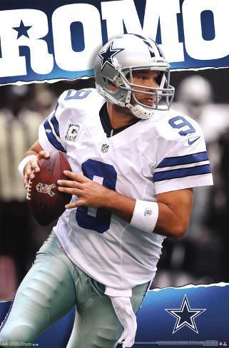 8427054487 Tony Romo Dallas Cowboys Prints - at AllPosters.com.au