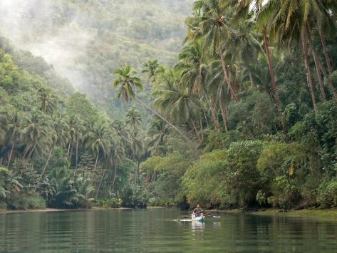 Loboc River, Bohol, Philippines, Southeast Asia, Asia Photographic Print