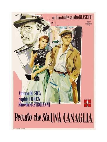 Too Bad She's Bad, 1954 (Peccato Che Sia Una Canaglia) Giclee Print