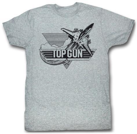Top Gun - Black T-paita