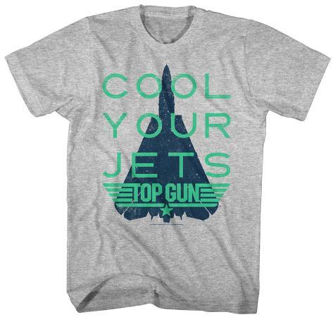 Top Gun- Cool Your Jets T-shirt