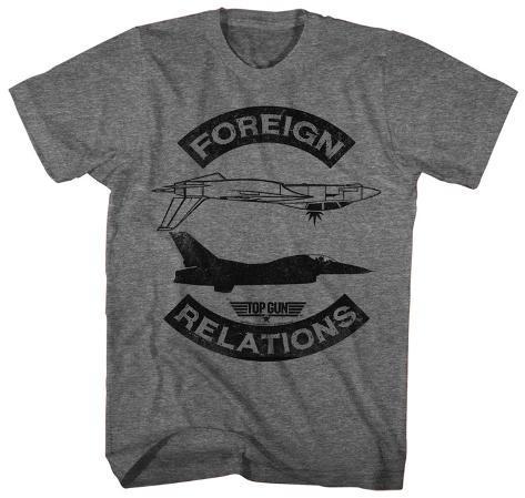 Top Gun- Foreign Relations T-Shirt