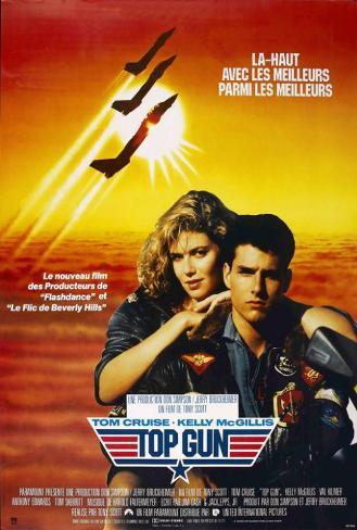 Top Gun - French Style Poster