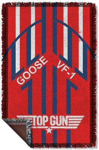Top Gun - Goose Woven Throw Throw Blanket