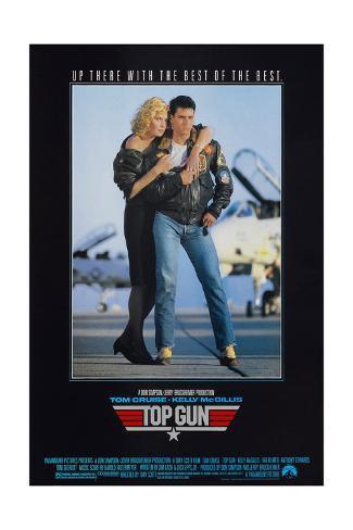Top Gun - Movie Poster Reproduction Art Print