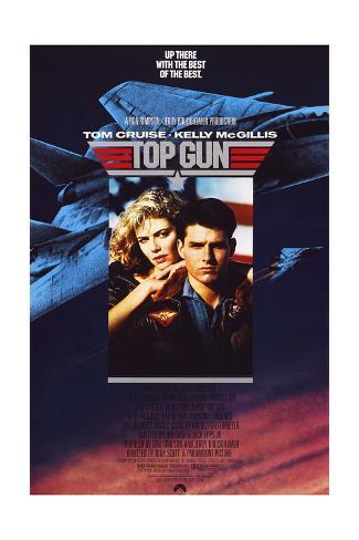 Top Gun - Movie Poster Reproduction Premium Giclee Print