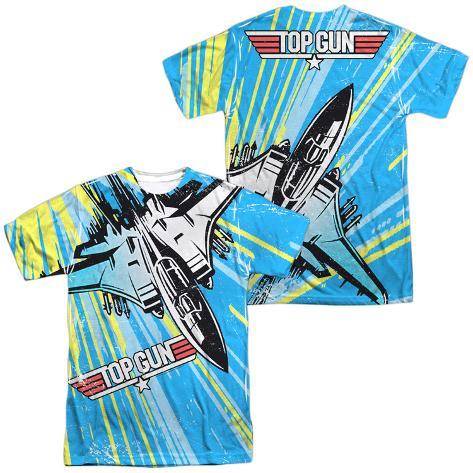 Top Gun- Rad Jet (Front/Back) T-Shirt