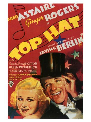 Top Hat, 1935 Art Print