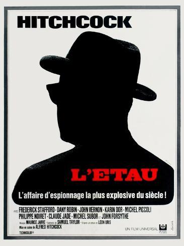 Topaz, 1969, Directed by Alfred Hitchcock Giclee Print