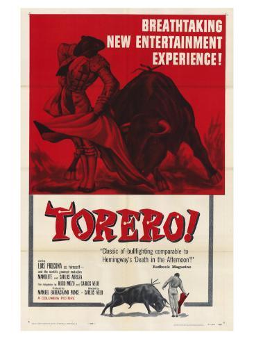 Torero!, 1957 Art Print