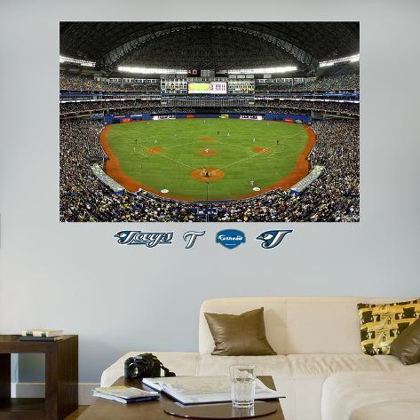 Toronto Blue Jays Rogers Centre Stadium Mural  Wall Decal