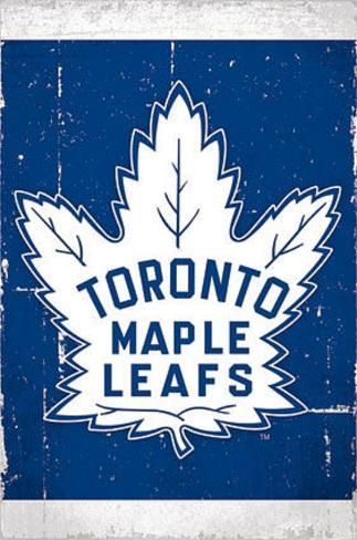 Toronto Maple Leafs Retro Logo Poster