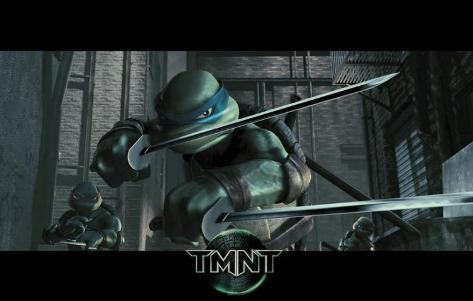 Tortugas Ninja Mutantes Adolescentes (grupo) Lámina maestra