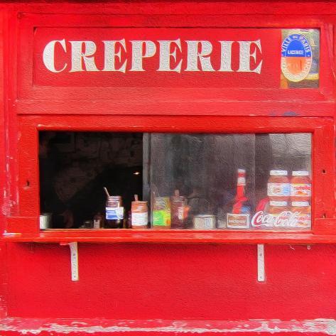 Creperie Premium Giclee Print