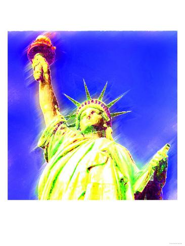 Statue of Liberty, New York Art Print