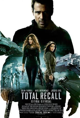 Total recall - 2012 Movie Poster Double-sided poster