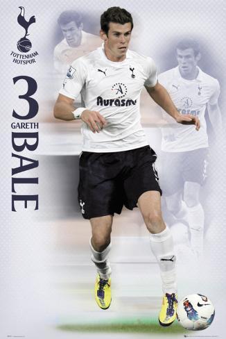 Tottenham- Bale 2011-2012 Poster