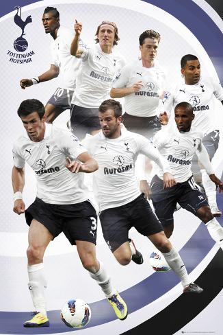 Tottenham Hotspurs-Players 2011-2012 Poster