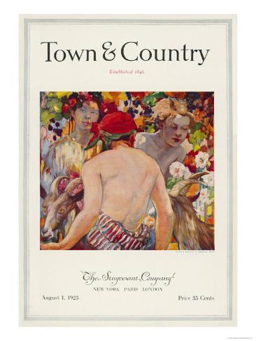 Town & Country, August 1st, 1923 Art Print