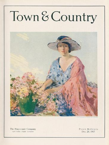 Town & Country, December 20th, 1917 Art Print