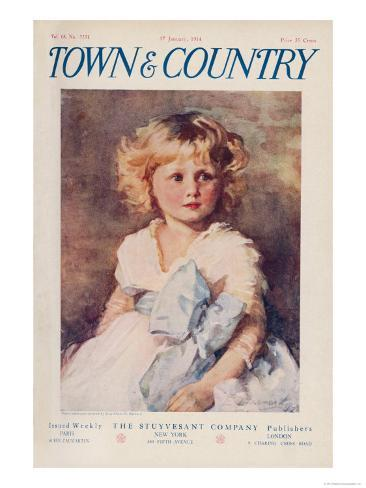 Town & Country, January 17th, 1914 Art Print