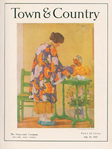 Town & Country, July 20th, 1917 Art Print