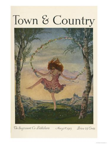 Town & Country, May 1st, 1915 Art Print