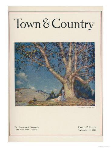 Town & Country, September 10th, 1916 Art Print