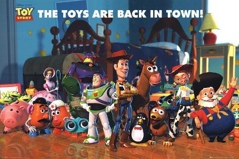Toy Story 2. Los juguetes vuelven a la carga Póster
