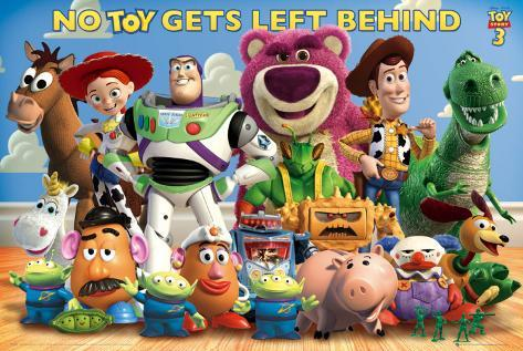Toy Story 3 Cast Poster