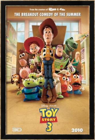 Toy Story 3 Framed Poster