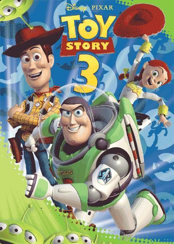 Toy Story 3 3 Dimensional Poster