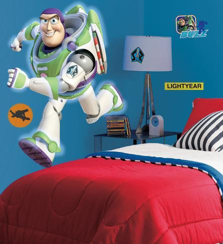Toy Story - Buzz gigante (sticker murale) Decalcomania da muro