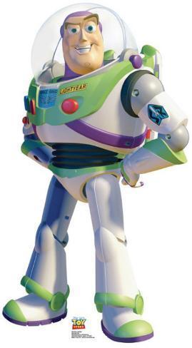 Toy Story - Buzz Lightyear Cardboard Cutouts