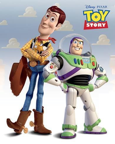 Toy Story (Woody & Buzz) Mini Poster