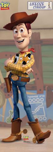 Toy Story - Woody Cardboard Cutouts