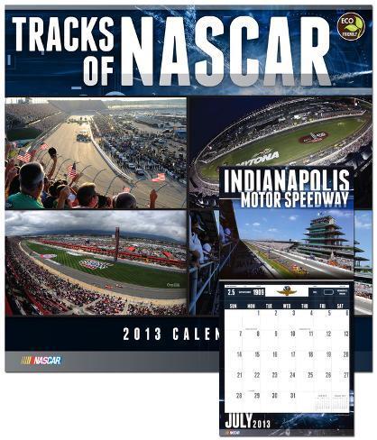 Tracks of NASCAR - 2013 Calendar Calendars