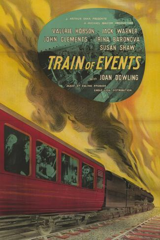 Train of Events Art Print