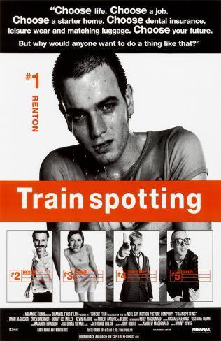 Trainspotting Impressão original