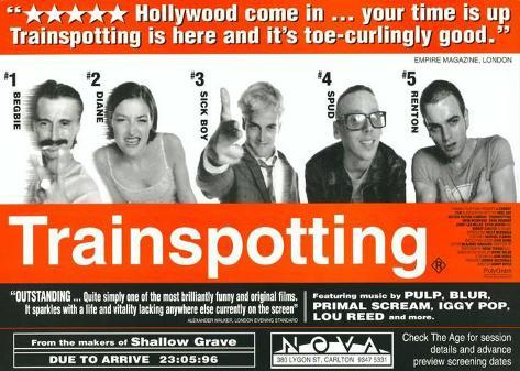 Trainspotting Masterprint