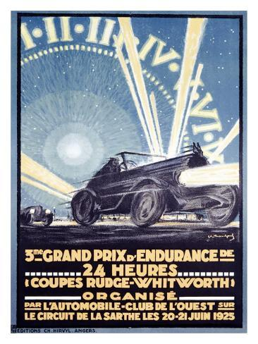 3rd Grand Prix d'Endurance Giclee Print