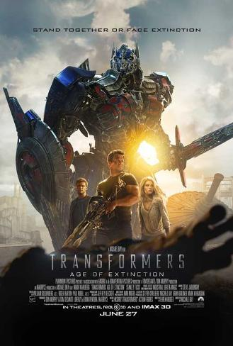 Tranformers: Age of Extinction Poster