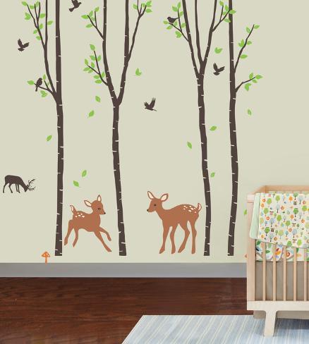 Tranquil Woodland Adesivo de parede